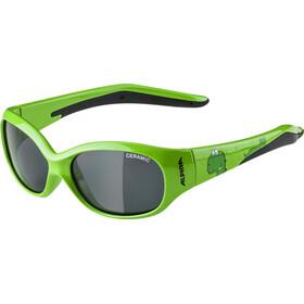 Alpina Flexxy Kids Brille Børn, green dino